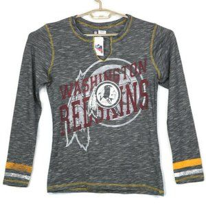 Washington Redskins NFL Shirt T-Shirt Large Black
